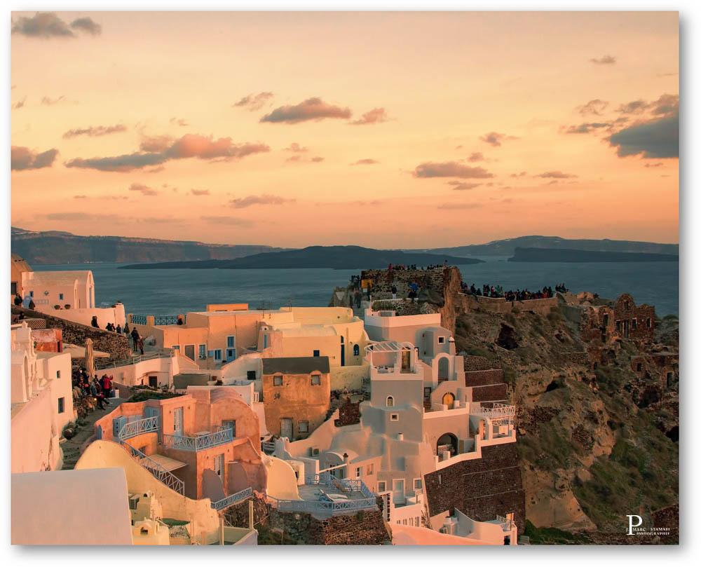 Coucher de Soleil Grèce Santorin