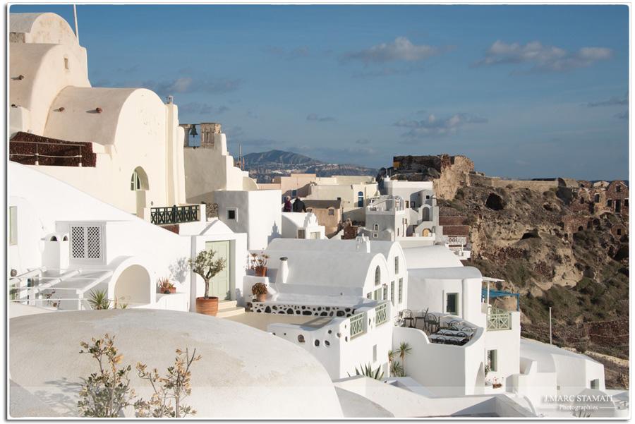 Photographe voyage. Oia Grèce
