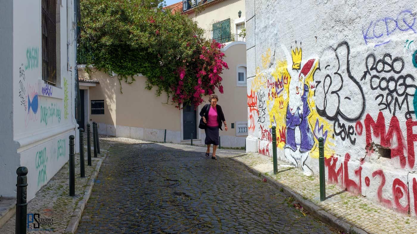Lisbonne en fleur