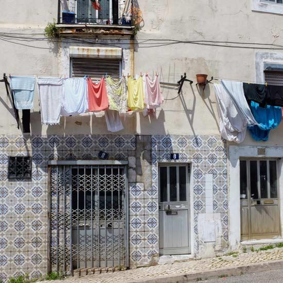 Quartier du port Lisbonne