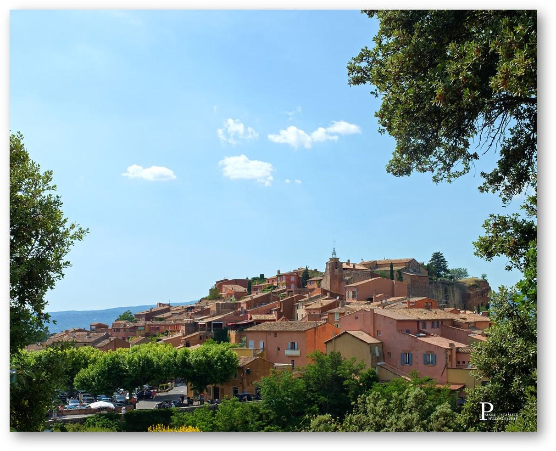 Roussillon carrières d'ocre