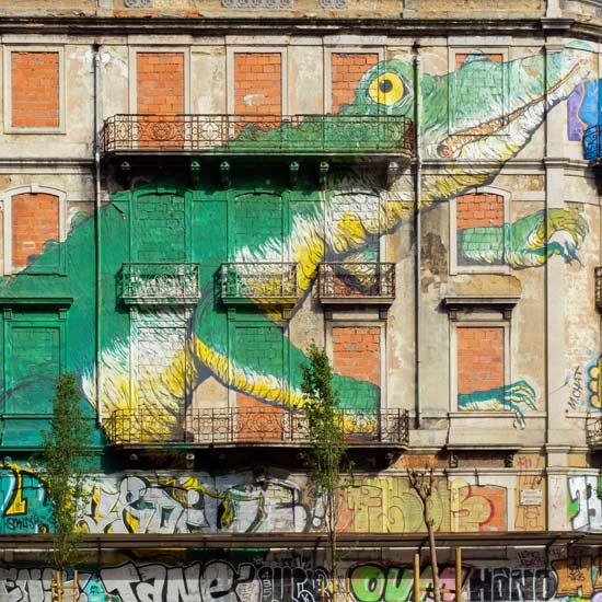 Lisbonne street art 2 idée de balade à lisbonne