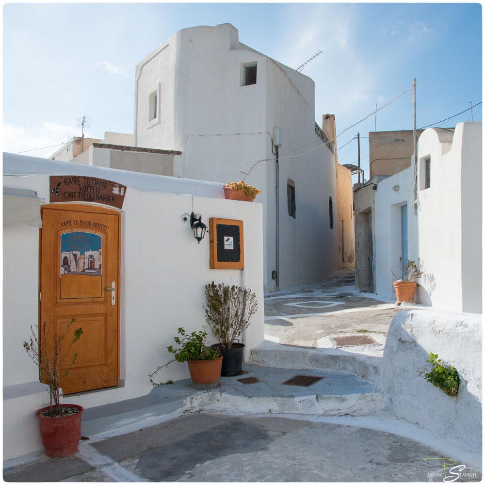 Rue de Pyrgos Santorin
